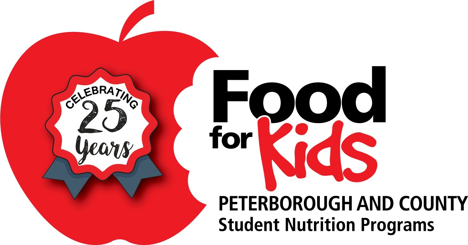 Food For Kids 25th Anniversary Logo