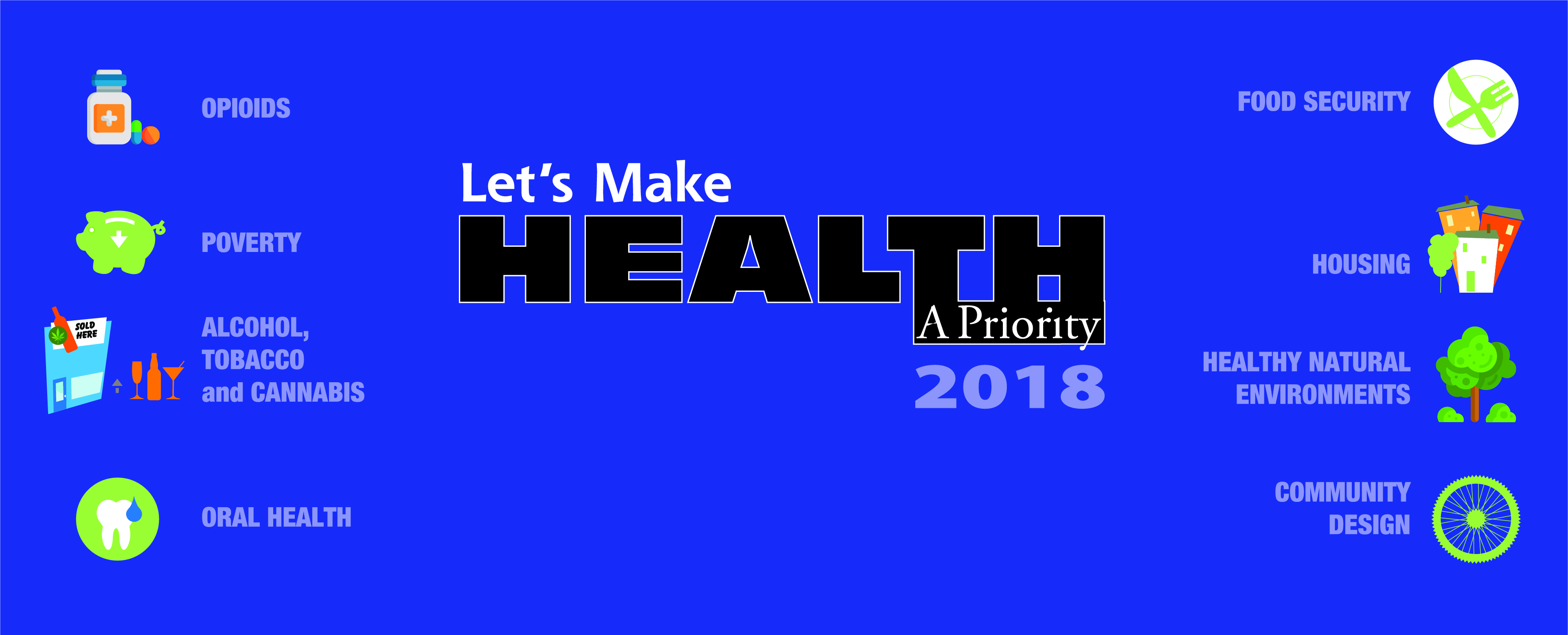 Let's Make Health a Priority 2018